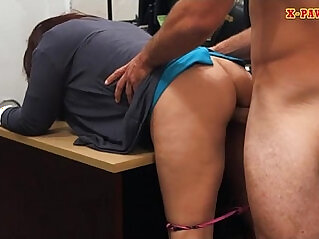 Milf boned by horny pawn man to bail her hubby out of jail