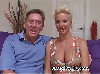 Amazing Mature wife Gets Jizz Shower