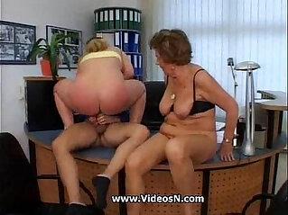 Granny Martha and Mature Lady get Laid