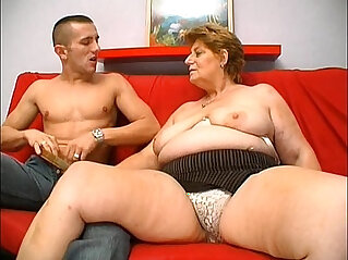 Mature granny hungry skin head young man sex