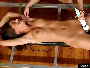 ticklish forced orgasm for caprice
