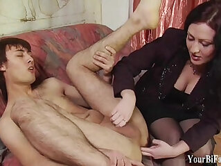 Kinky guy gets a prostate massage