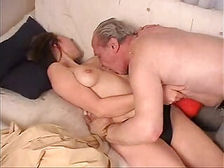Dirty old man fucking girl