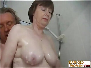 Old couple have hardcore anal fucking action