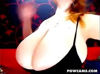 Pretty Redhead With Boobs