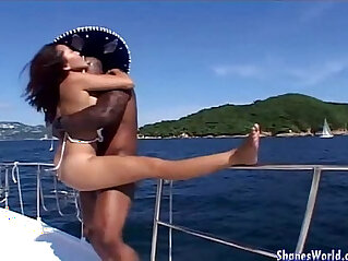 Hot Fuck Asian Hotty on Yacht