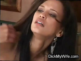 Exotic bigtit wife cheats on cuckold video