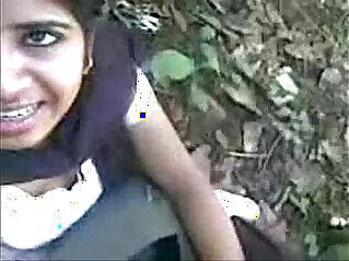 Indian Girl Sucking a big dick and eat cum