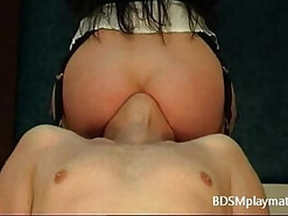 Chair facesitting and ass worship