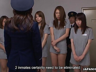 Slutty Asian prisoners getting fucked hard anally fucked and spunked