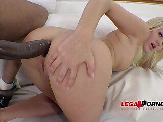 Katie Montana interracial play with black monster mamba cock