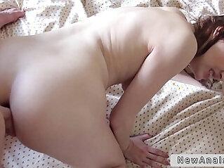 Russian girl in hardcore anal fucking