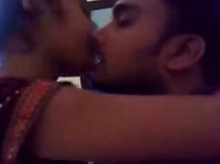 desi girl and boy sensual kiss in class room