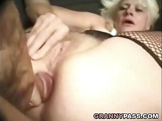 Barbie Face Granny Anal With Big Cock