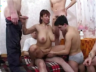 redhead russian milf fucked by young boys