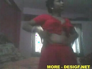 Indian Hot Tamil Aunty Removing Dress