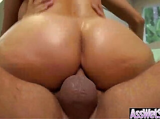 Girl fucked With Oiled Wet Ass Get Her Butt Nailed Deep movie