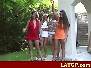 Group party with nasty girls fucking 25