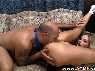 Big tit anal pounded from behind