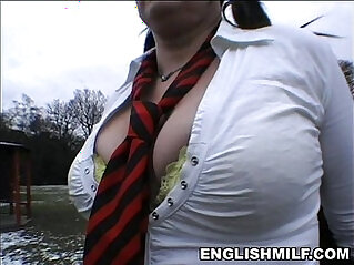 big ass milf in school uniform stockings