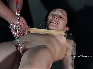 Asian Mei Maras extreme bdsm and slave training of oriental painslut in hum