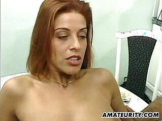 Hot amateur girlfriend hardcore action