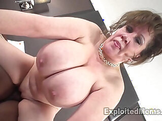 Cougar Does her First Interracial Black monster Cock inside her Video