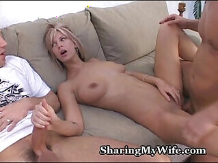 Hubby Shares Wife With her Friend