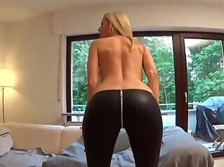 Amazing hot Blonde Gets Her Ass and Pussy getting fucked