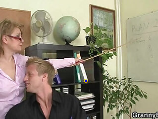 Office lady gives head and gets her cunt fucked