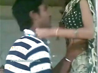 aunty fucking with boy when her husband not there