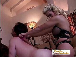 Mistress Sabrina Dominates Her Asshole