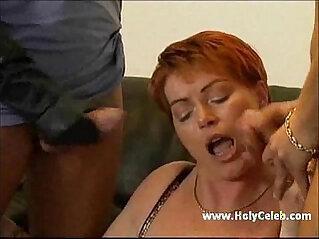German Busty mature