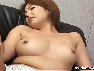 Japanese babe gets her haiy pussy licked and fingered Uncensored